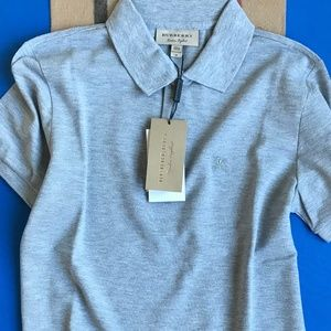 BURBERRY LONDON GREY MEN POLO